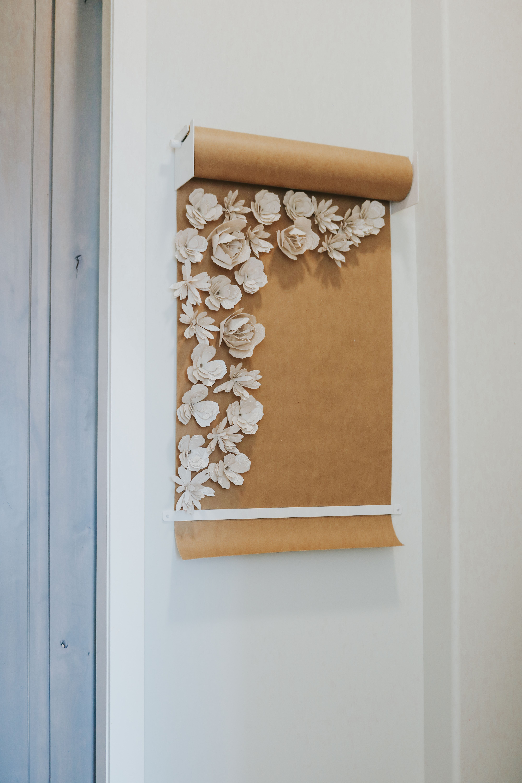 3d cricut paper flower diy easy wall decor diy unique