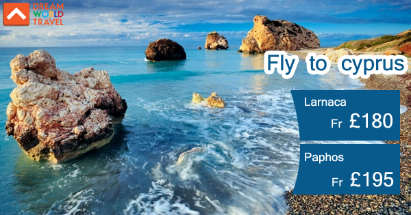 Book cheap flights from London to Cyprus with Dream World Travel.Find Cheap Flight Deals on all major airlines.  #Cheap #Flights #To #Cyprus #CheapFlights #To #Europe