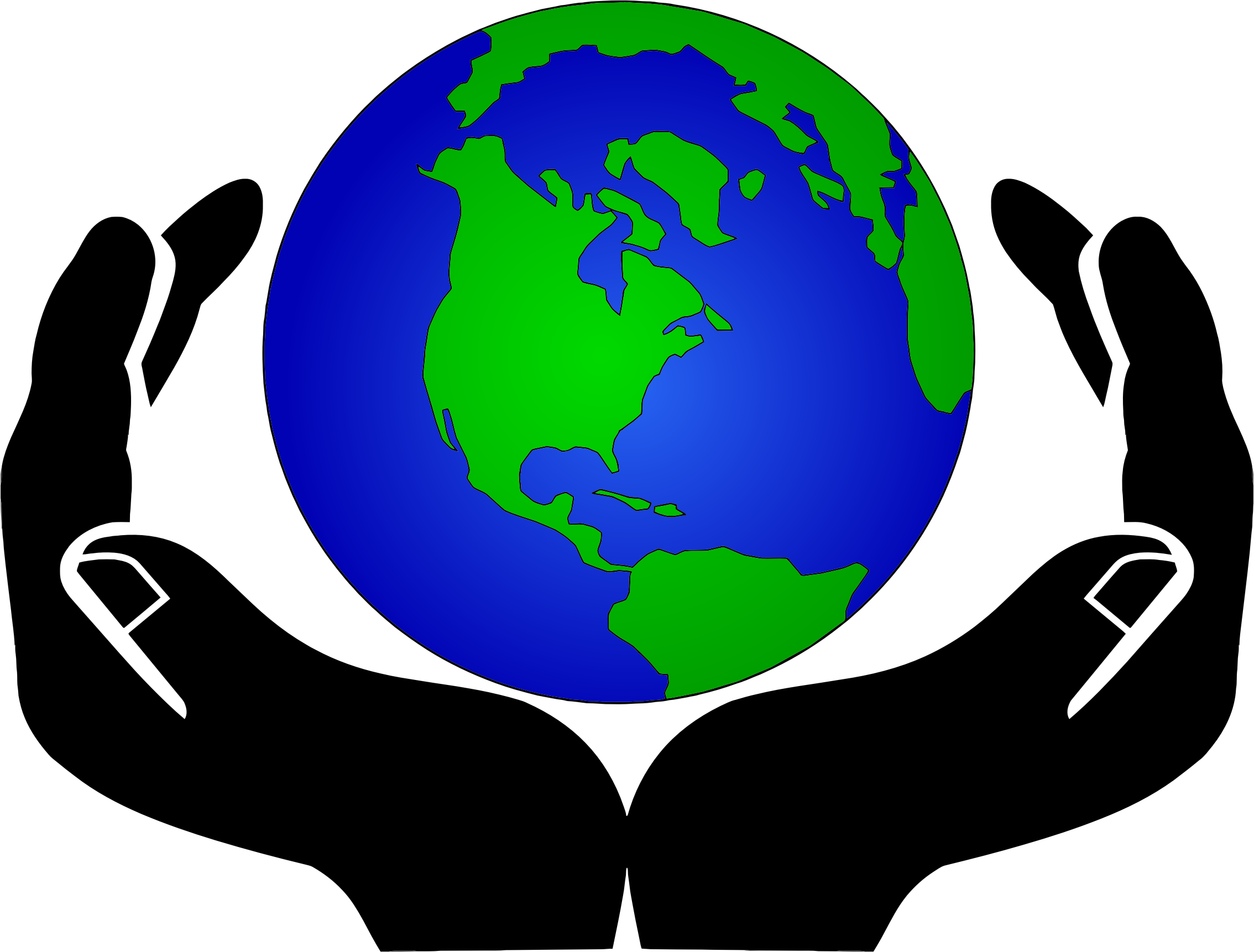World Top Globe Clip Art Free Clipart Image