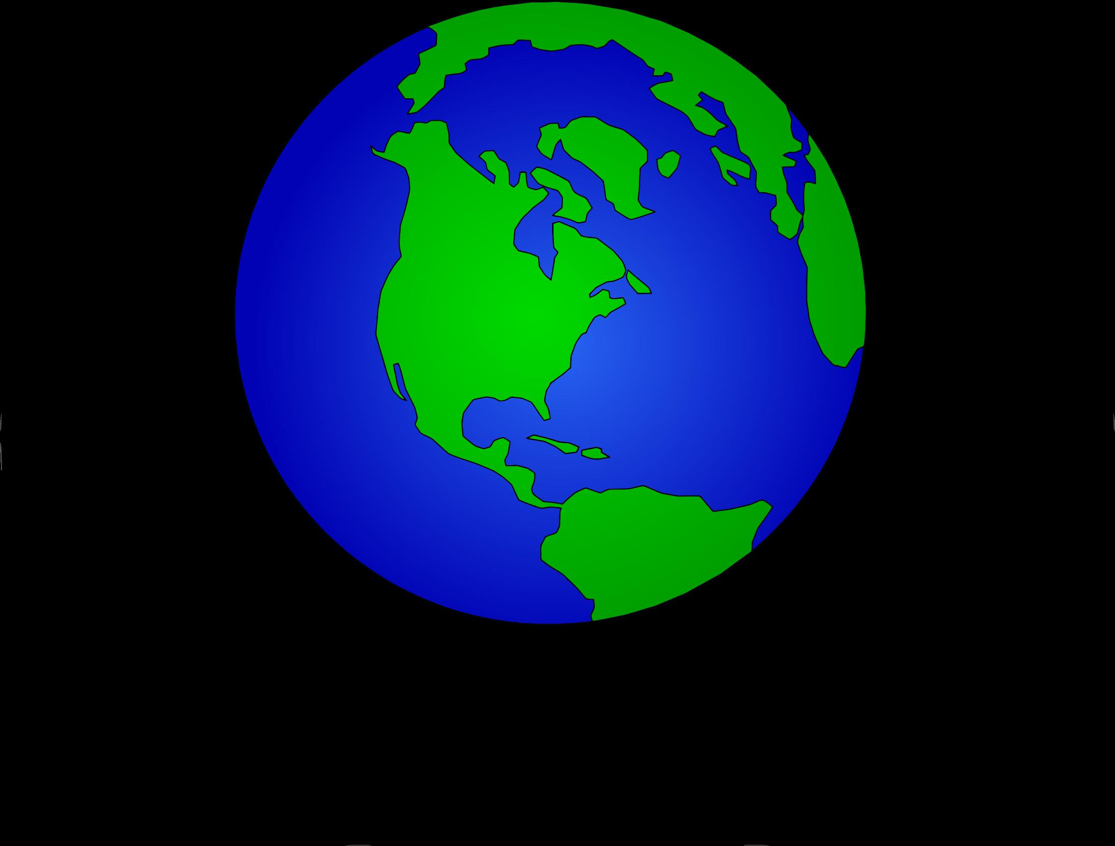 world top globe clip art free clipart image [ 2268 x 1722 Pixel ]
