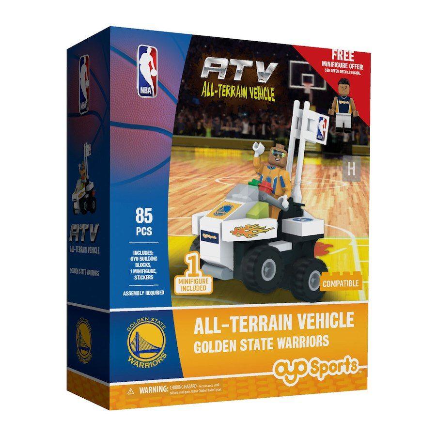 b8e1fa46c3d Golden State Warriors OYO Sports ATV with Super Fan Minifigure Set ...