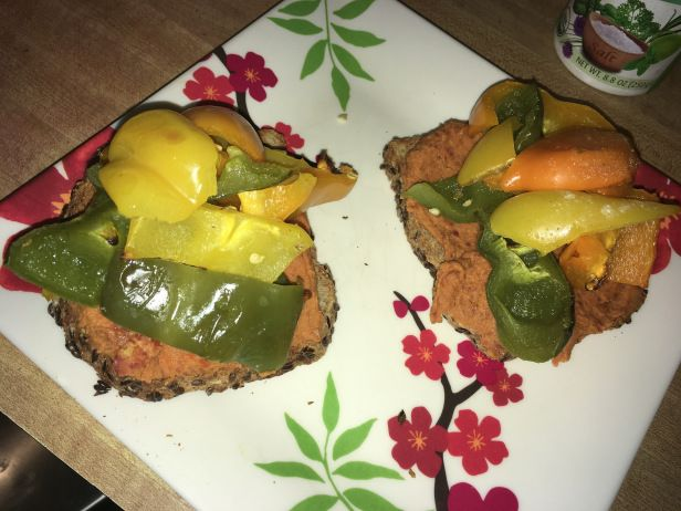 Recipe share- vegan open faced sandwich – Welcome to Apryl's World