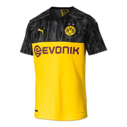 19 20 Borussia Dortmund Champion League Home Soccer Jerseys Shirt Cheap Soccer Jerseys Shop Shirts Borussia Dortmund Soccer Jersey