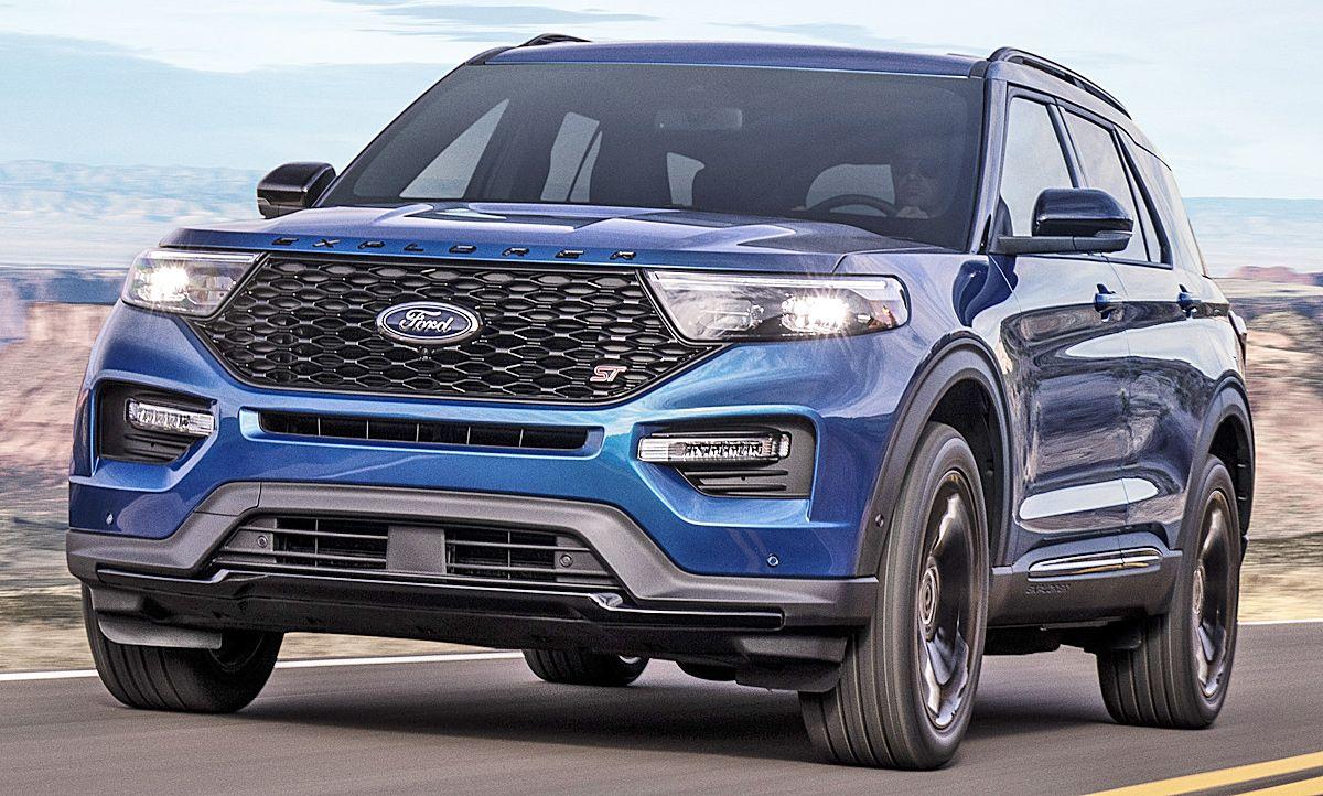 Ford Explorer St 2019 Motor Ausstattung Autozeitung Ford Explorer Ford Puma
