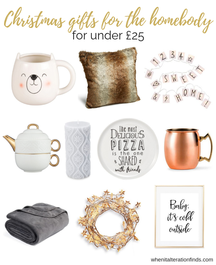 Christmas Gift Ideas For The Homebody Under 25