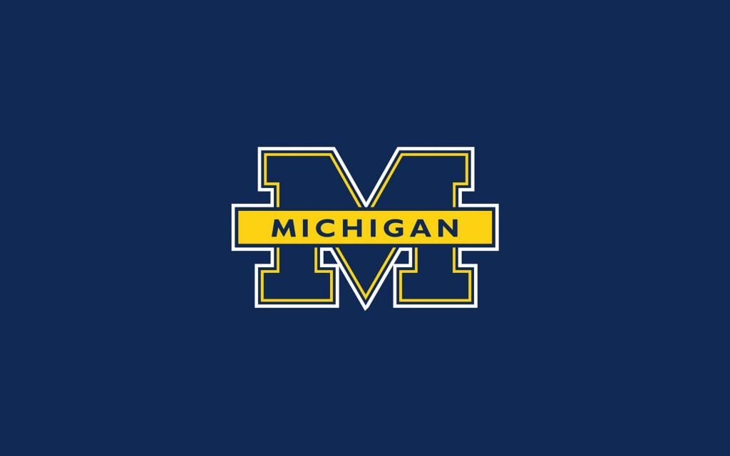 Michigan Football Logo Hd Wallpaper 1080p Wolverines Michigan Wolverines Michigan Wolverines Football