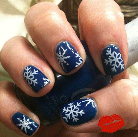 Nail snowflake art images nail art and nail design ideas nail snowflake art image collections nail art and nail design ideas nail snowflake art images nail prinsesfo Images