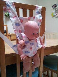 ec42ed660a74 Porte-bébé pour poupée poupon