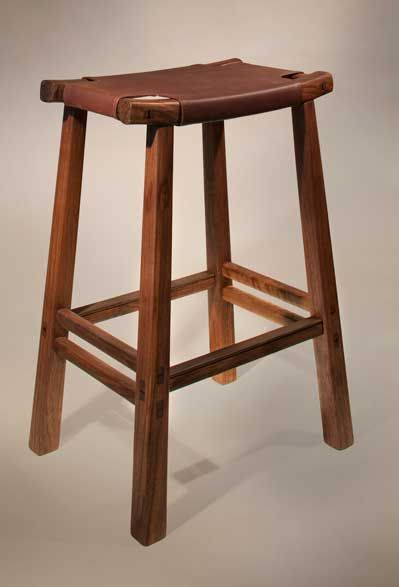 David Rasmussen Design Japanese Furniture Stool Asian Furniture