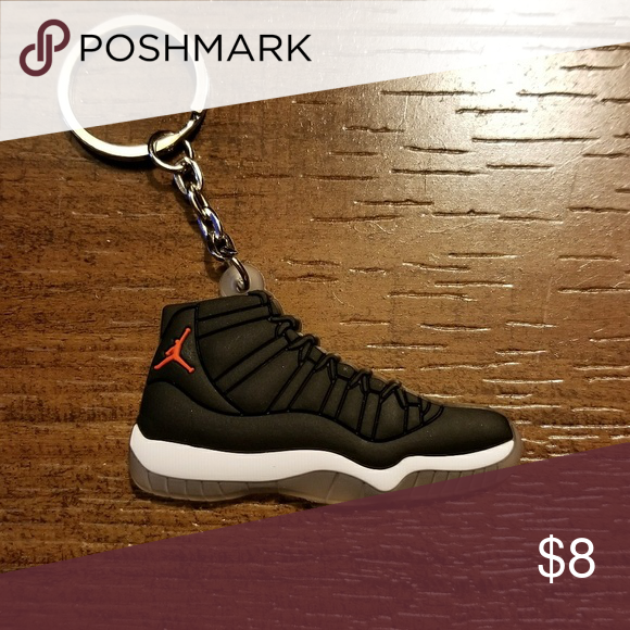 jordan 11 shoe keychain