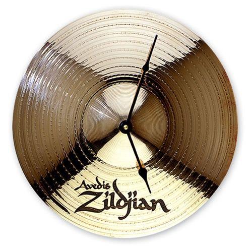 Zildjian Cymbal Wall Clock Studio Zildjian Cymbals