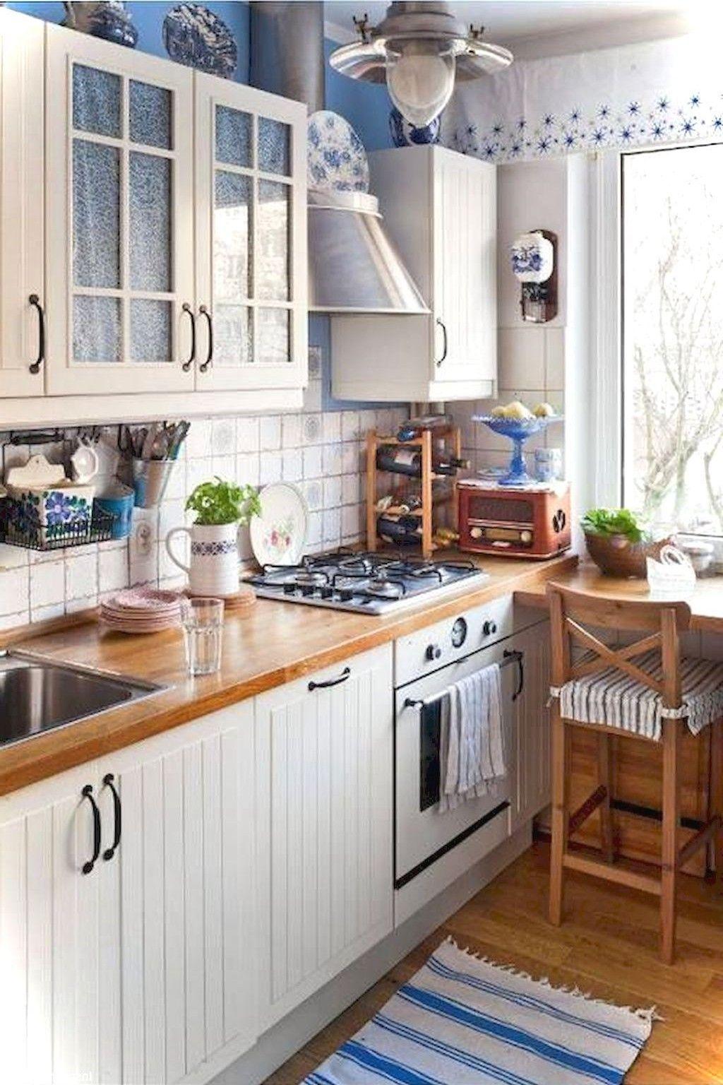 55 Genius Small Cottage Kitchen Design Ideas Small Cottage Kitchen Cottage Kitchen Design Kitchen Design Trends