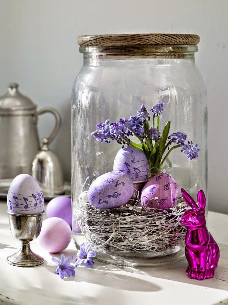 apró gyönyörűségek: Húsvéti dekor ötletek  Húsvét  Pinterest  Easter and Easter decor