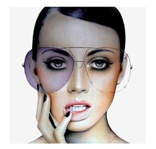Fashion Illustration with Eyewear - Anja Van Herle #fashion #illustration #eyewear