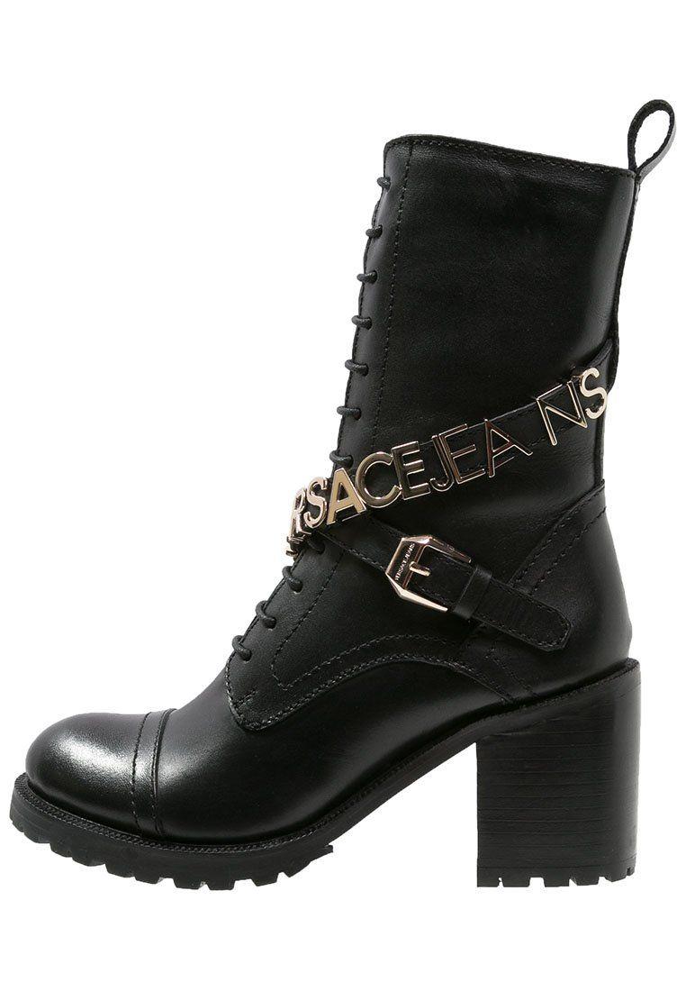 b88d26e30e3 Versace Jeans Bottines à lacets - nero - ZALANDO.BE