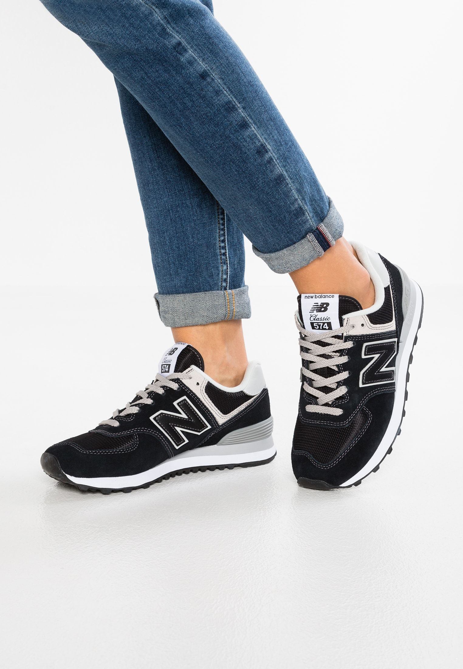 separation shoes 16ce9 976ff WL574 - Trainers - black in 2019 | Shoes Boots Bags | New ...