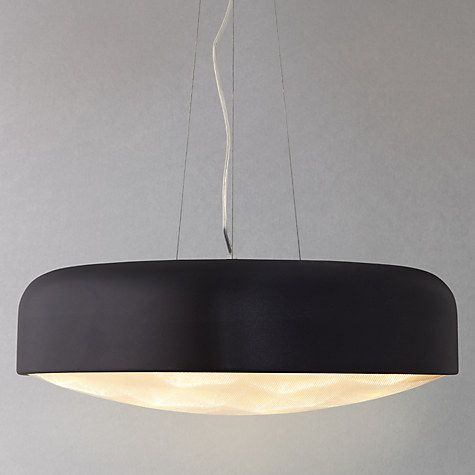 Buy john lewis anders with diffuser led ceiling light large black buy john lewis anders with diffuser led ceiling light large black online at johnlewis aloadofball Image collections