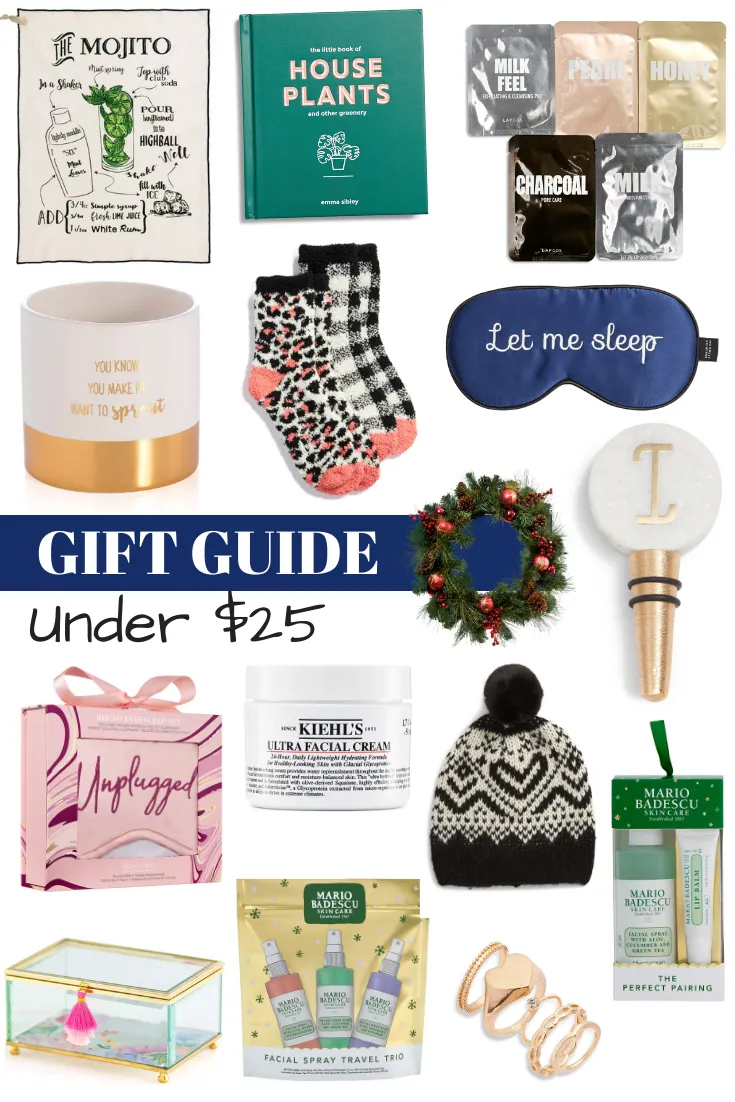 Holiday Gift Guide: Gifts Under $25   Holiday gift guide ...