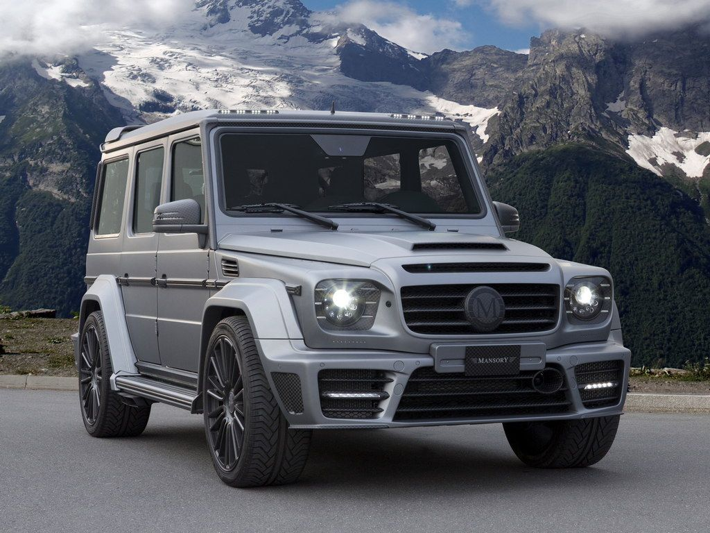 Mansory Mercedes G63 Gronos With 840 Horsepower Mercedes G63