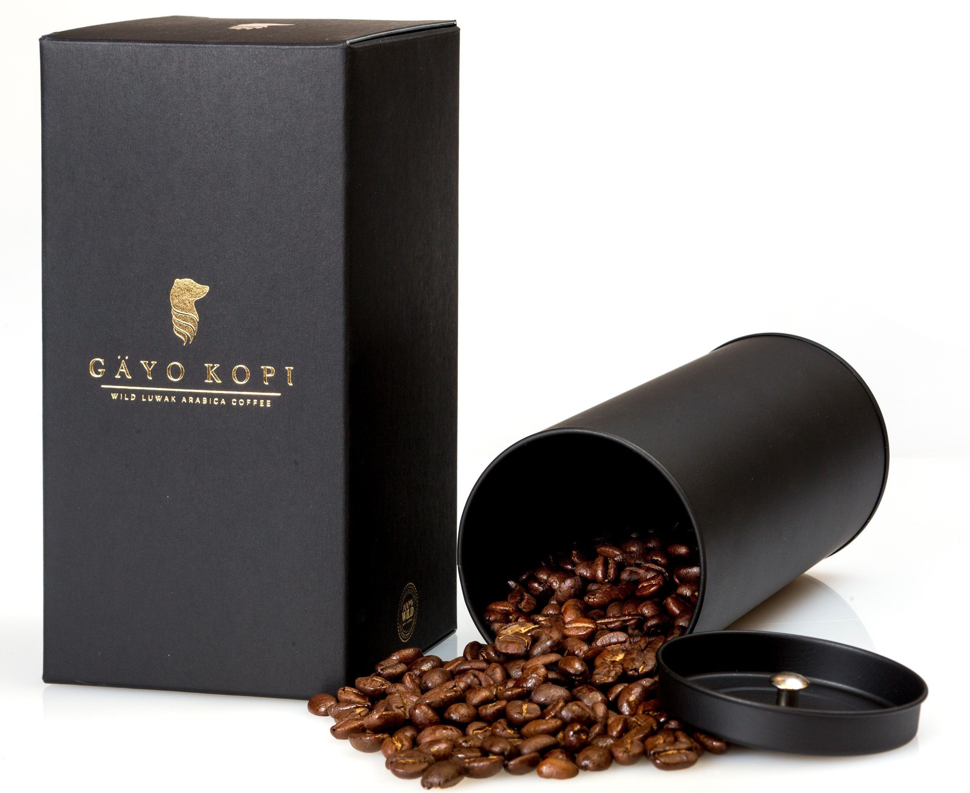 Kopi luwak, or civet coffee, is the most expensive and
