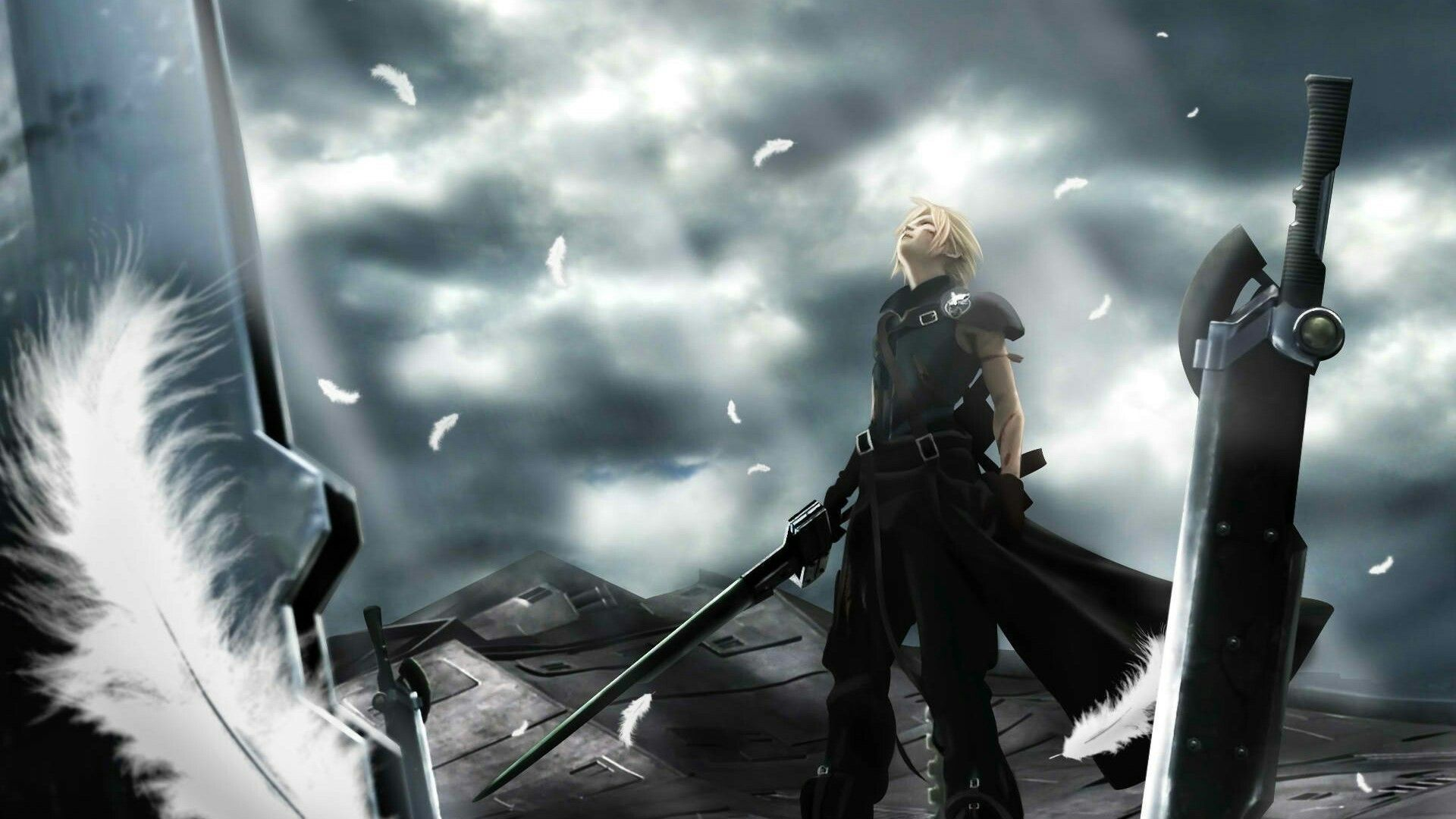 Stay Where You Belong In My Memories Final Fantasy Cloud