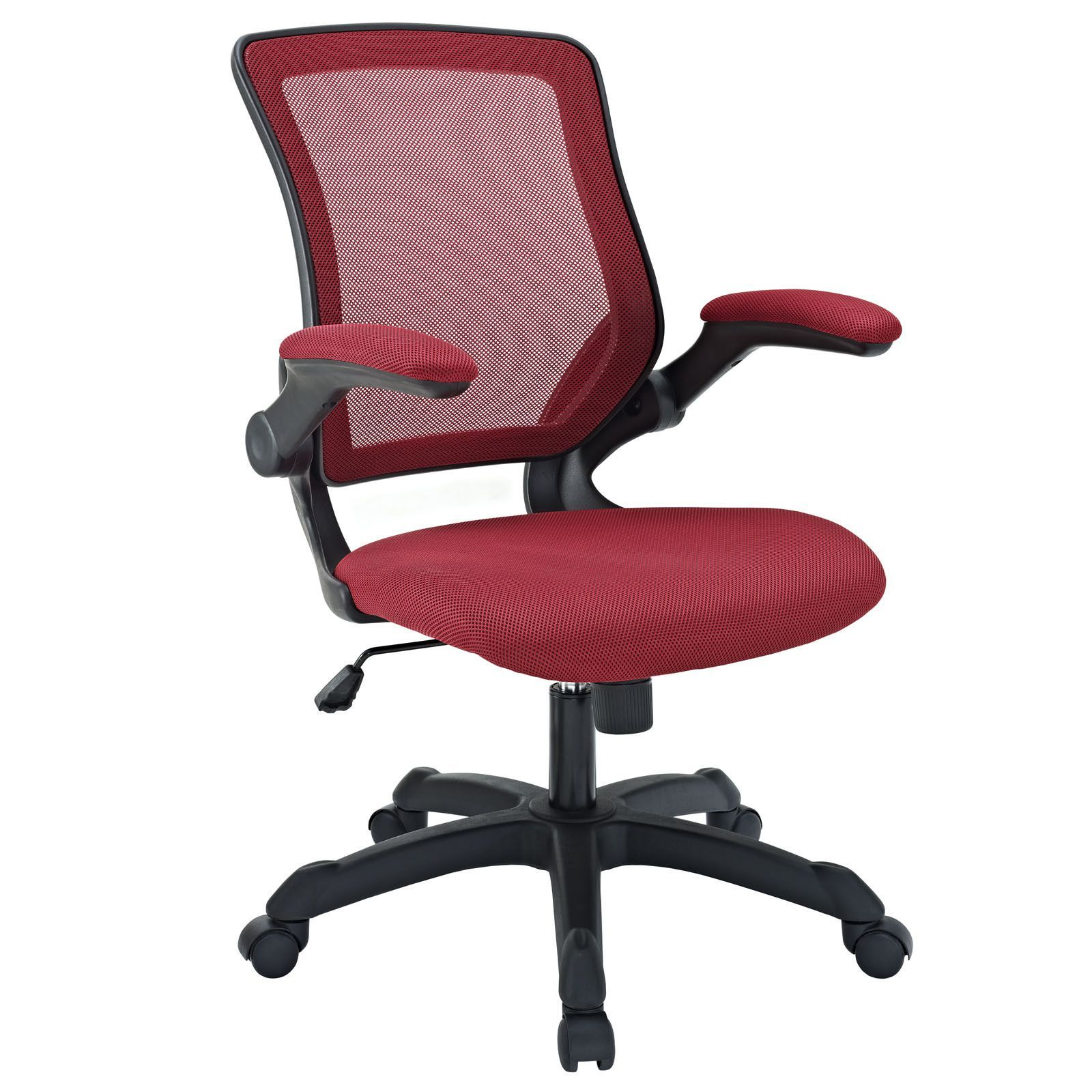 veer office chair with mesh back and mesh fabric seat red trending rh pinterest co uk