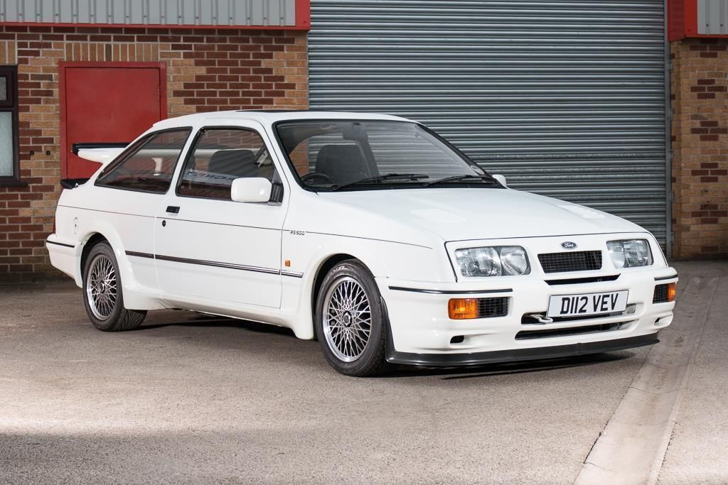 ebay ford sierra rs 500 cosworth white build number 1 1987 rh pinterest com  ford escort rs cosworth a venda