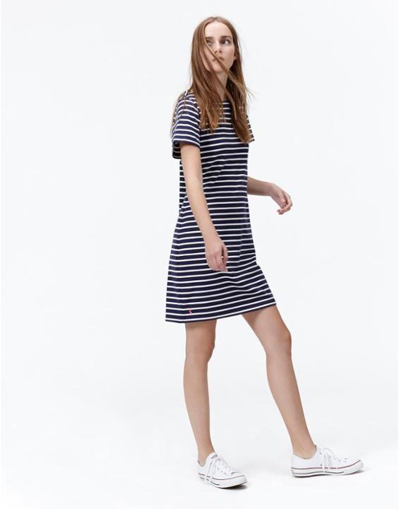 RIVIERAGestreiftes Jerseykleid für Damen