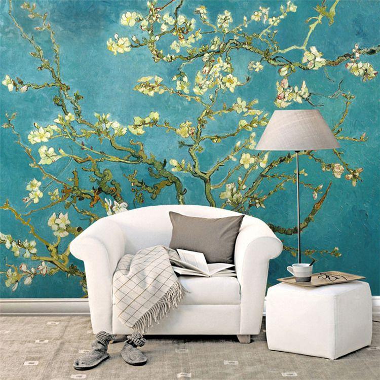 Van Gogh The Apricot blossom tree Art