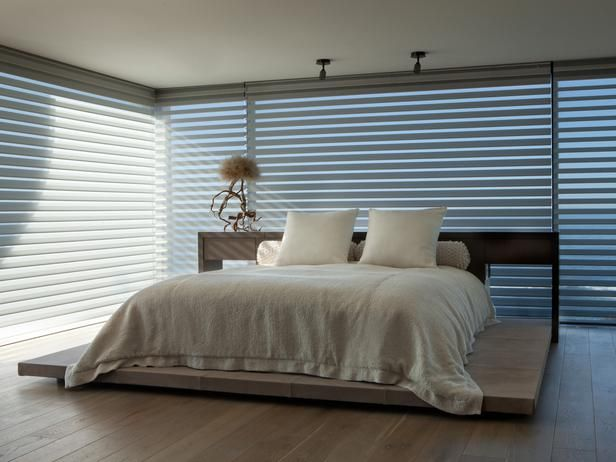 MODERN NEUTRAL BEDROOM WITH SHADES