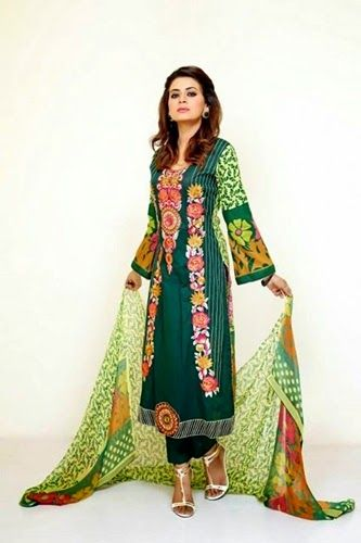 314b00084c3 Pakistani Party Wear 2015 for Summer