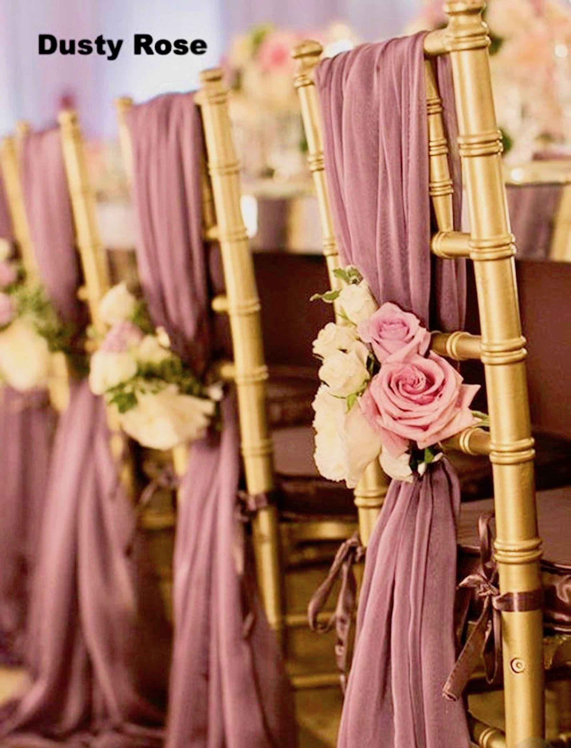 Sale 50 Chair Sashes Wedding Decor Wedding Chair Covers Chair Sash Chiffon Chair Sash Wedding Chair Covers Chiavari Chair Cover Sash In 2020 Wedding Chair Decorations Wedding Chair Sashes Wedding Chairs