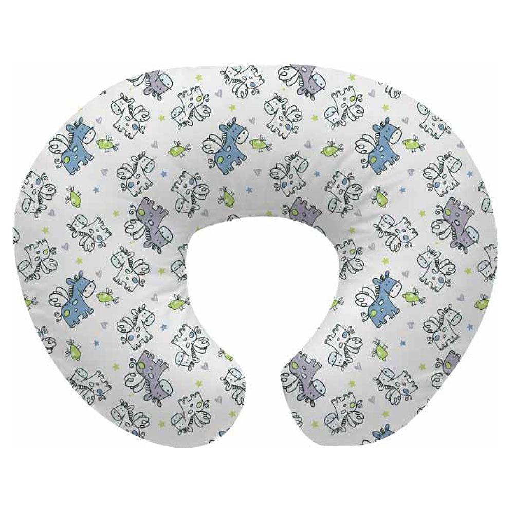 Babies R Us Nursing Pillow Blue Flying Horse Babies R