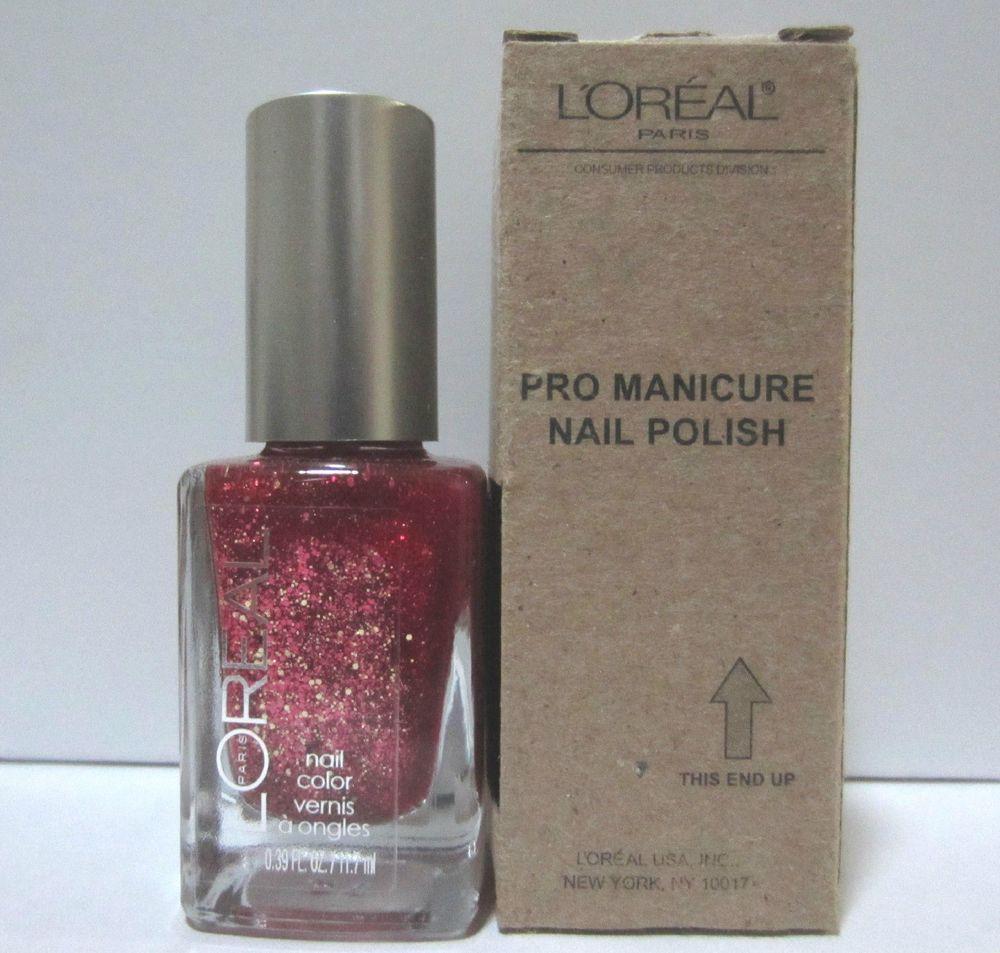 Favorite polish. LOREAL PRO MANICURE NAIL POLISH FANCY ME # 604 NEW ...
