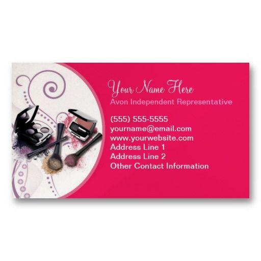 Avon Business Card Avon