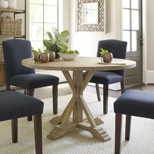 48 round hammersley round dining table birchlane nicholson rh pinterest com