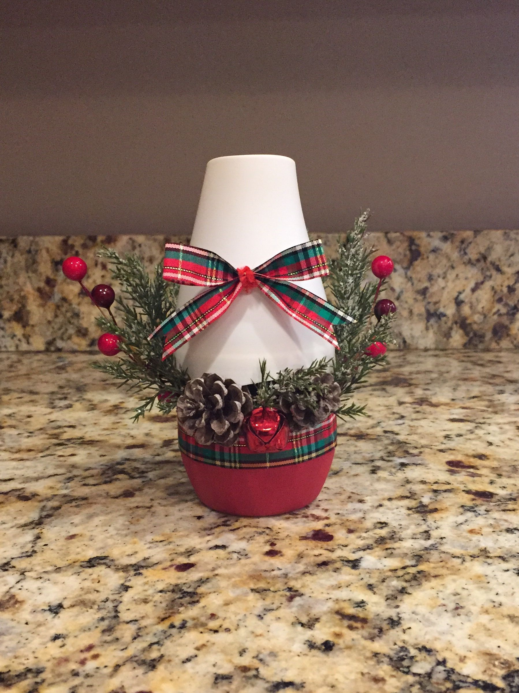 Air freshener Christmas decor, by Pam Waldrop. Christmas