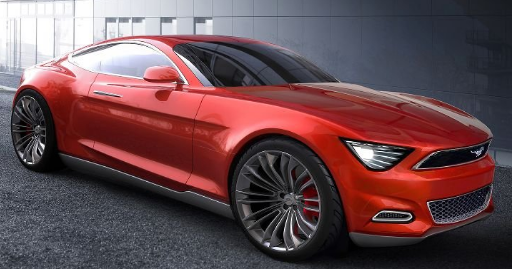 Ford mustang redesign