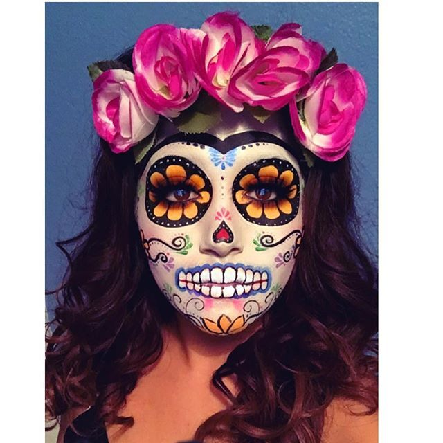 Sugar Skull MakeUp by Instagramer glam_yasmine