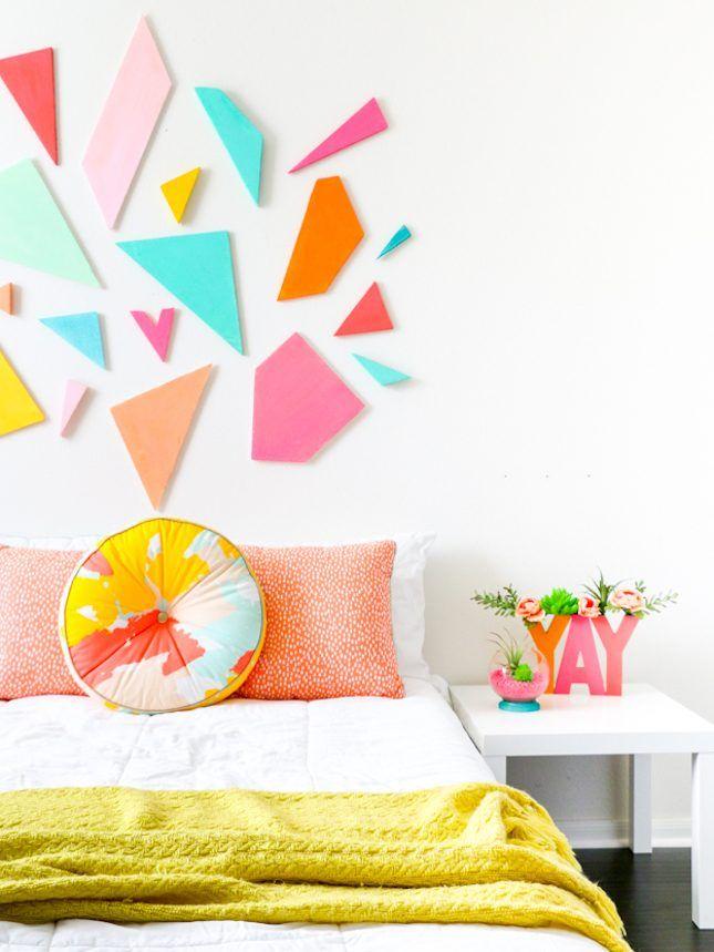 15 easy diy wall art ideas for your gallery wall via brit co rh pinterest com