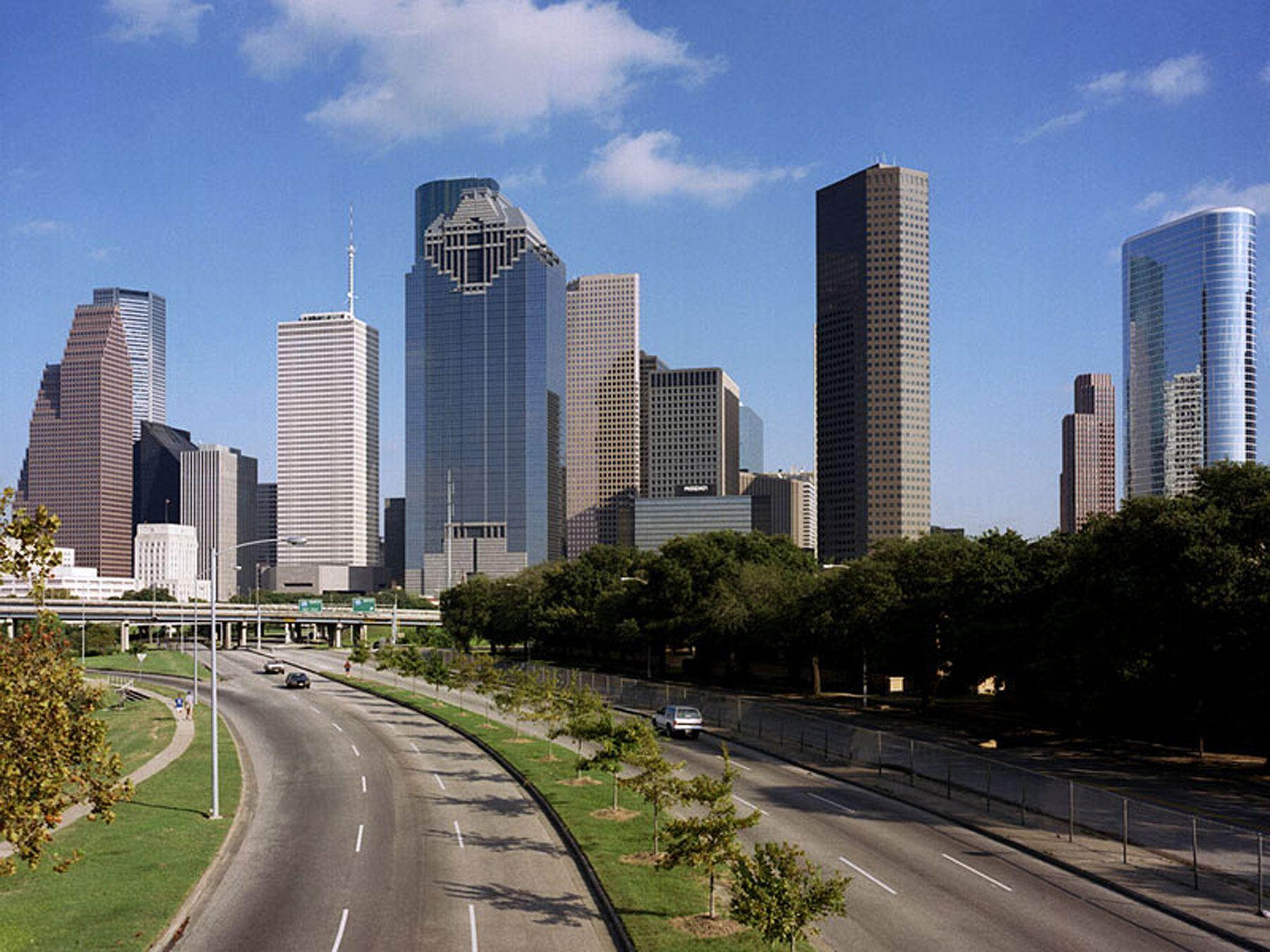 The worst speed traps in Texas Houston skyline, Houston