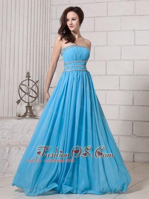 blue beatiful dresses   Beautiful Baby Blue Prom Dresses Baby blue ...