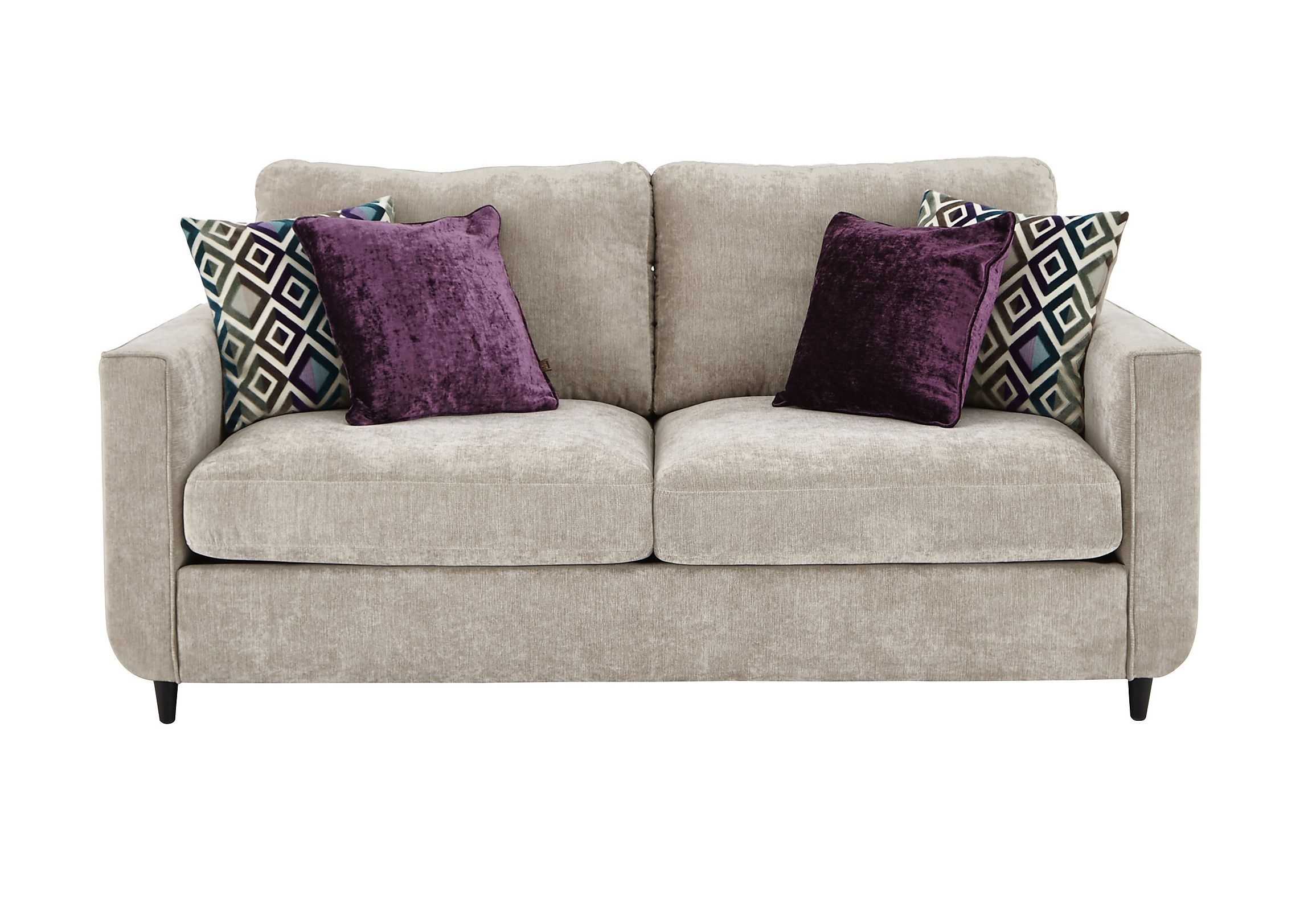 Esprit 3 Seater Fabric Sofa Bed Sofa Bed Design Couches Living Room Comfy Fabric Sofa Bed