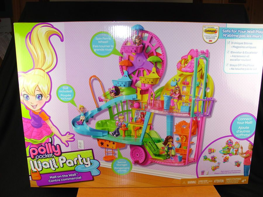 SOLD Jan 2017 Polly Pockets Mall On