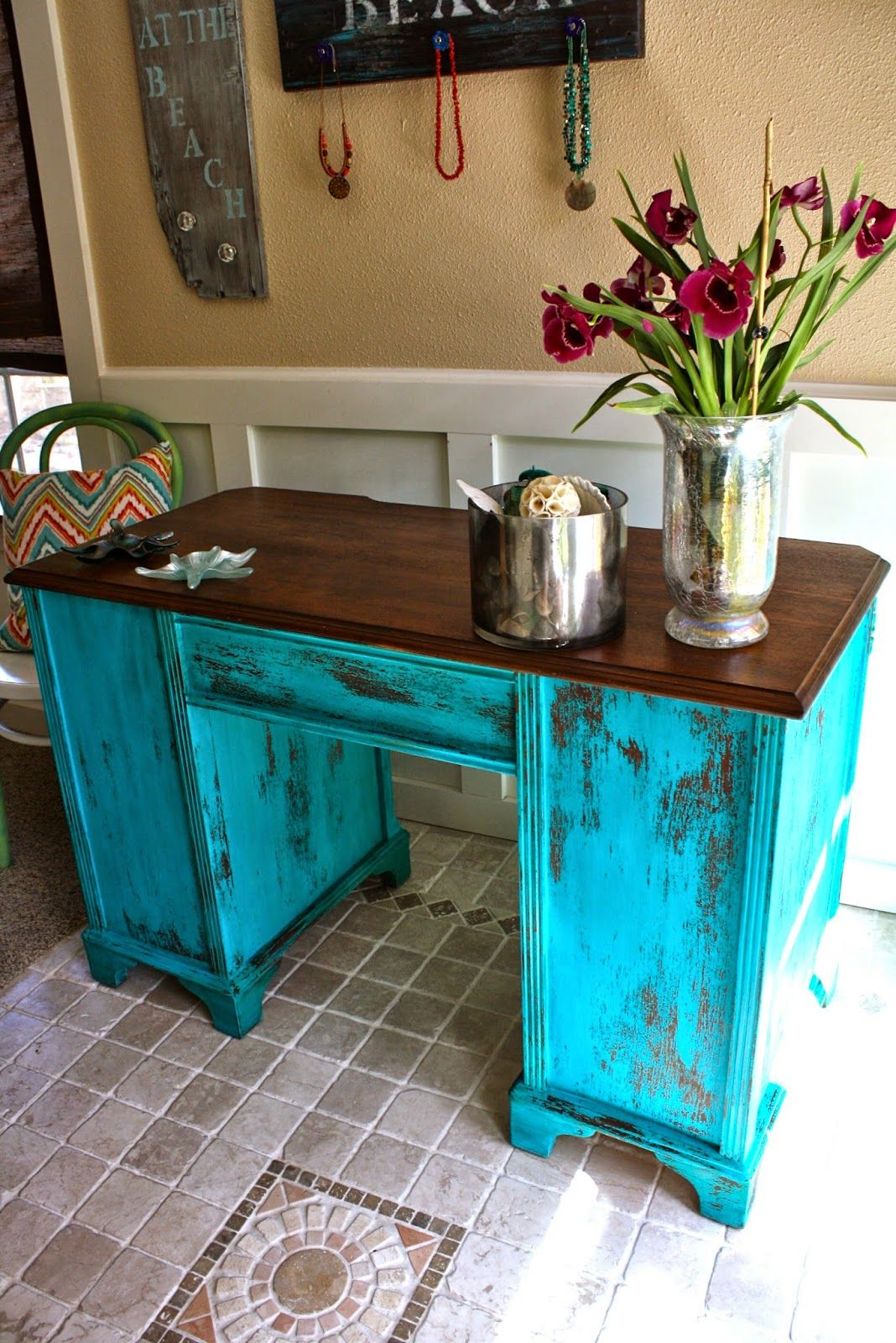 MakeMePrettyAgain Another Gem color in Milk Paint
