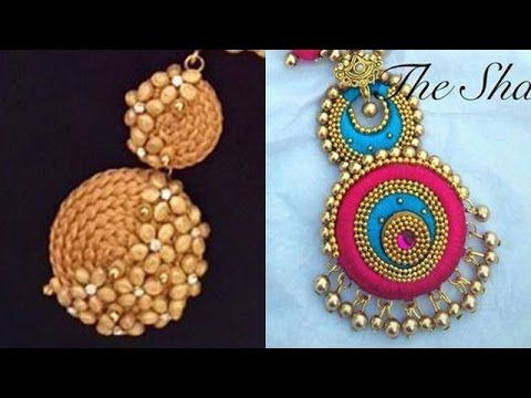 Silk Thread Pendant Design Ideas Jewellery Making Designer