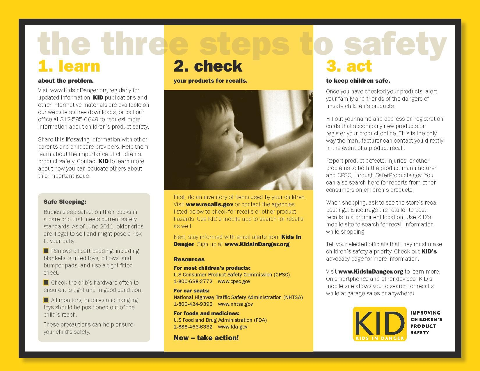 Pin by Kids In Danger on Fact Sheets and Resources Baby
