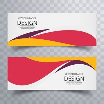 Download Colorful Wavy Banners For Free Banner Dizajn Veb Bannerov Veb Banner