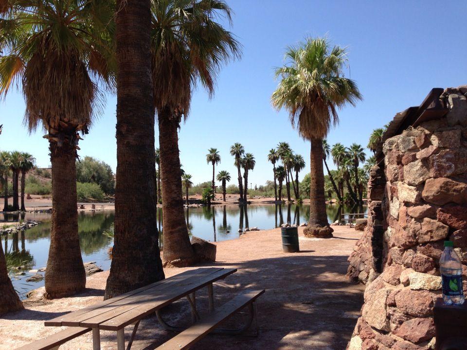 Phoenix Papago Park #desert #park #lakes