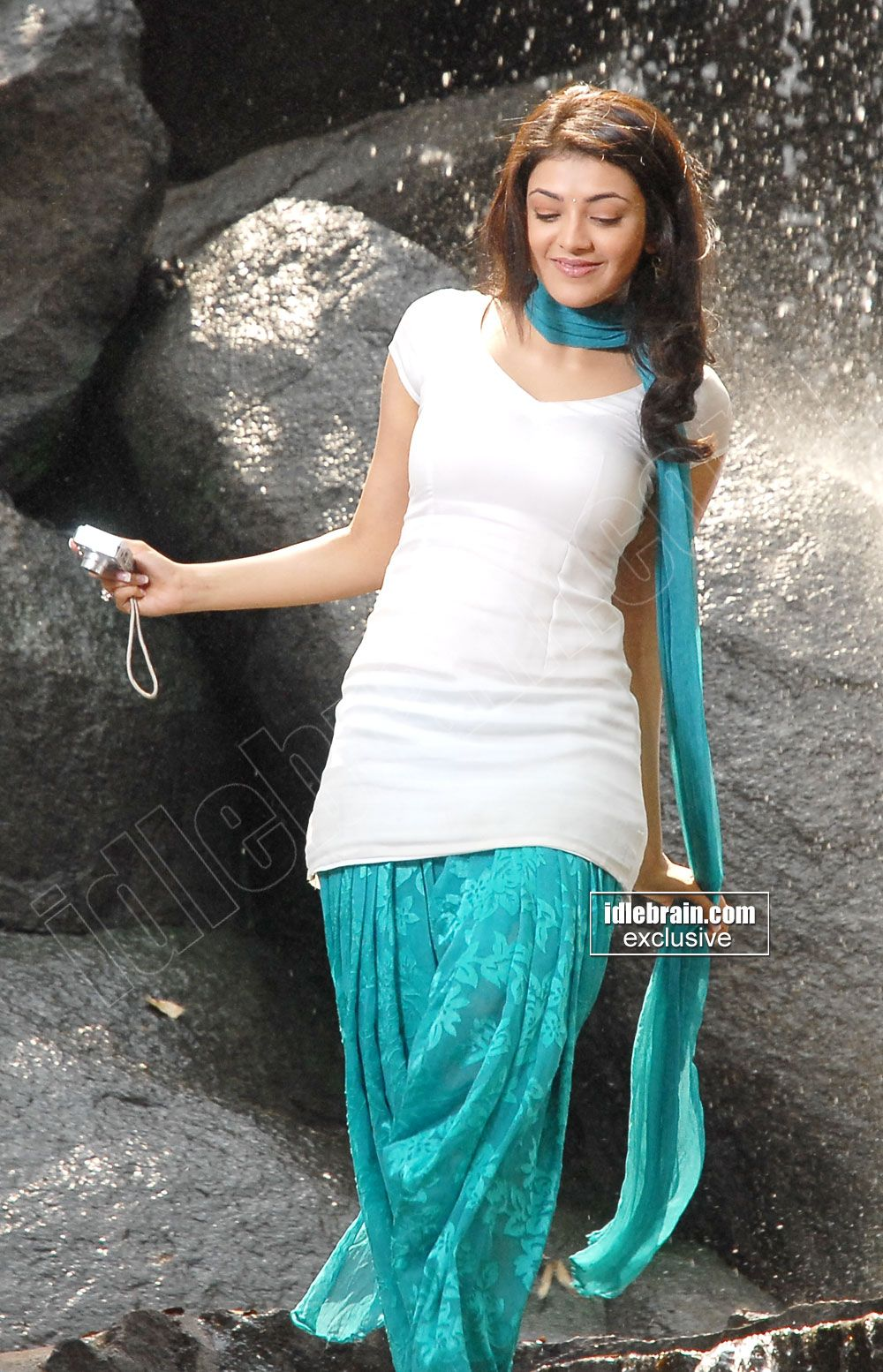 Kajal Aggarwal Indian Designer Wear Punjabi Outfits Dress Indian Style